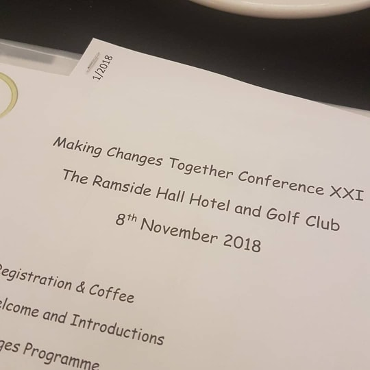 MCT 21st parent carer conference Thursday 8th November 2018